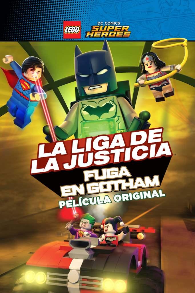 LEGO DC Comics Super Heroes: La Liga de la Justicia – Fuga de Gotham (2016) HD 1080p Latino