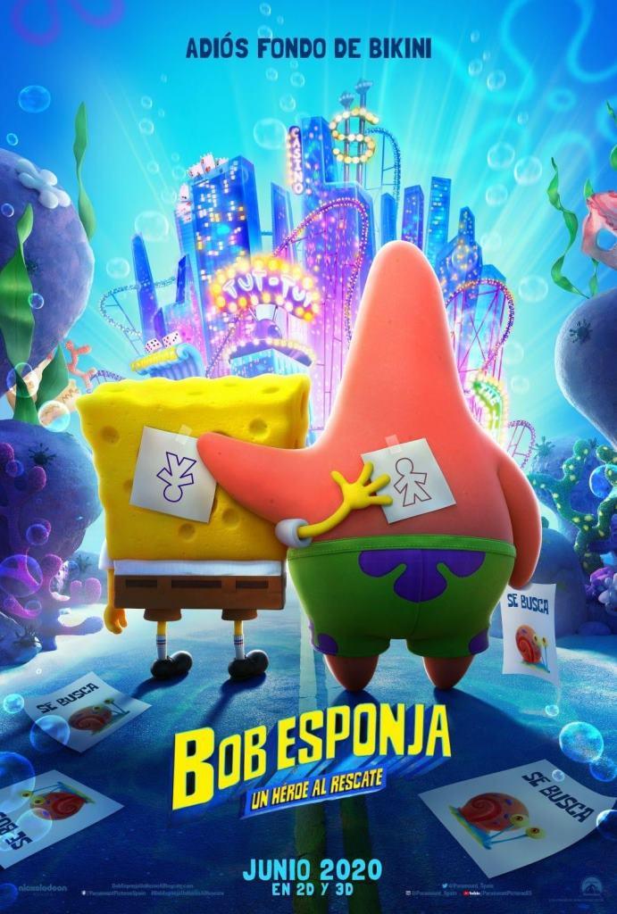 Bob Esponja: Un héroe al rescate (2020) HD 1080p Latino