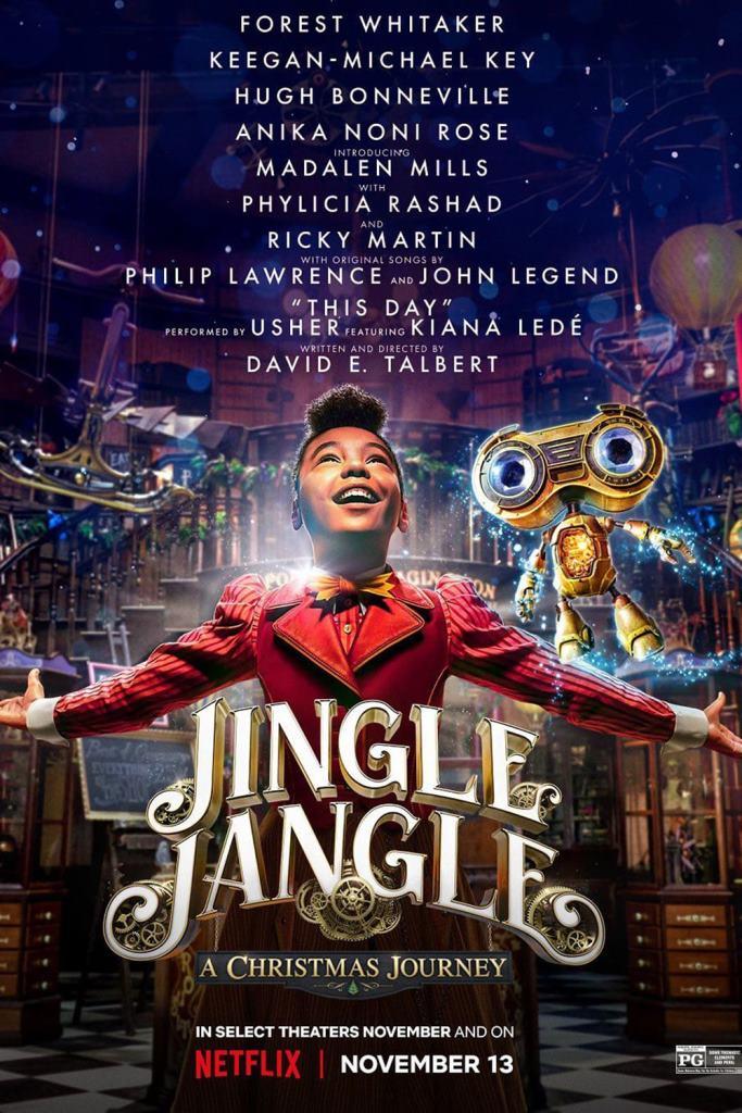Jingle Jangle: Una mágica navidad (2020) HD 1080p Latino