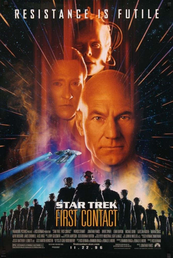 Viaje a las estrellas 8 (1996) HD 1080p Latino