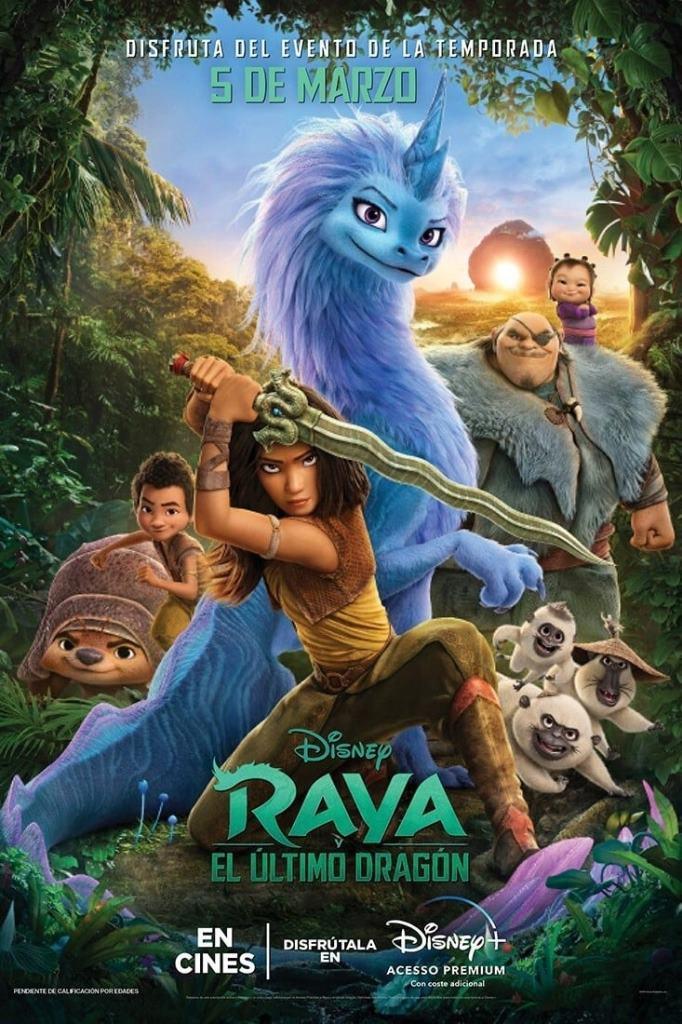 Raya y el último dragón (2021) HD 1080p Latino