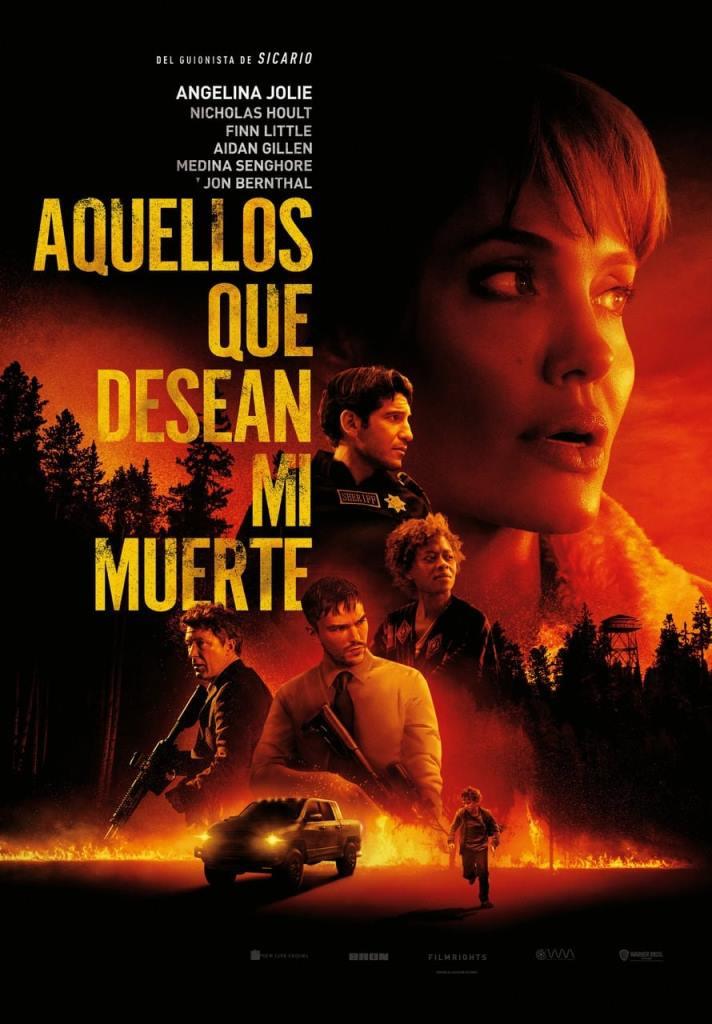 Aquellos que desean mi muerte (2021) HD 1080p Latino