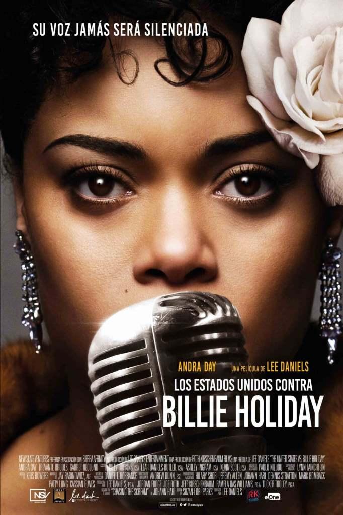 Estados Unidos vs. Billie Holiday (2021) HD 1080p Latino