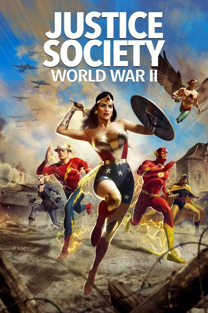 Justice Society: World War II (2021) HD 1080p Latino