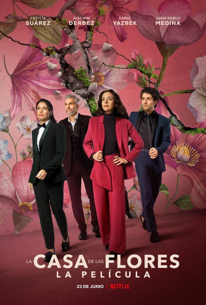 La casa de las flores: la película (2021) HD 1080p latino