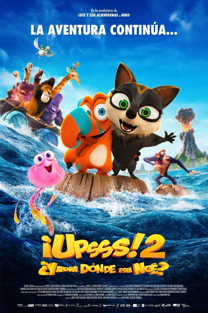 ¡Upsss! 2 ¿Y ahora dónde está Noé? (2020) HD 1080p Latino