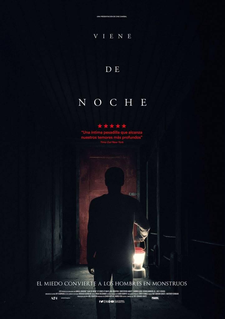 Viene de noche (2017) HD 1080p Latino