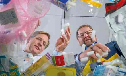 BASF produces products using chemically recycled plastics