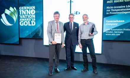 Measurement technology: ABB temperature sensor receives German Innovation Award