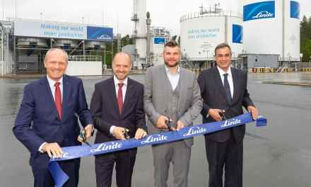 Liquefied gases: Linde opens new air separation plant