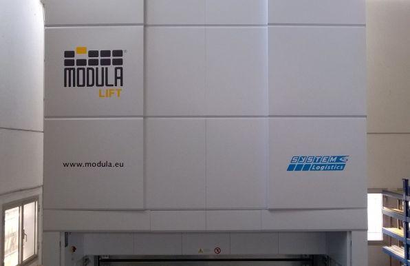 Magazzino verticale automatico MODULA LIFT | Vergalli Acciai