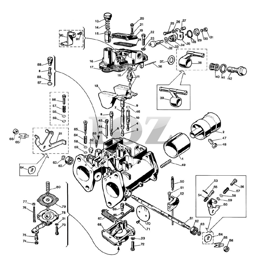 Air Cooled Vw Transmission Parts Diagram. Diagram. Auto