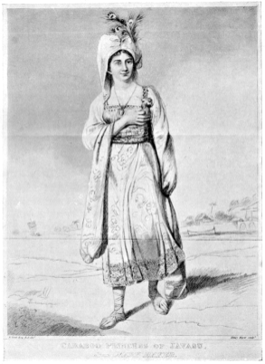 """""""Princess Caraboo"""" From an engraving by Henry Meyer, after a picture by Edward Bird"""