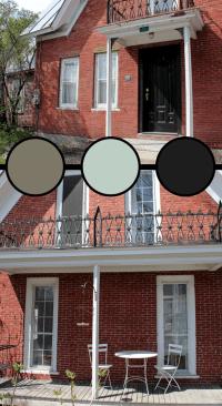 Brick House Trim Color Ideas   Verhext