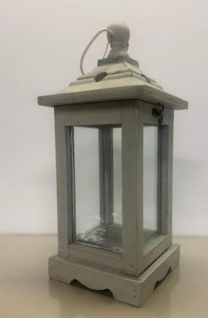 Lanterna base quadrata