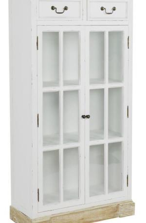 Mobile doppio con vetrina