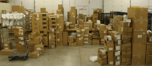 Mess of boxes