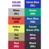 Hospital Incident Command Station color square