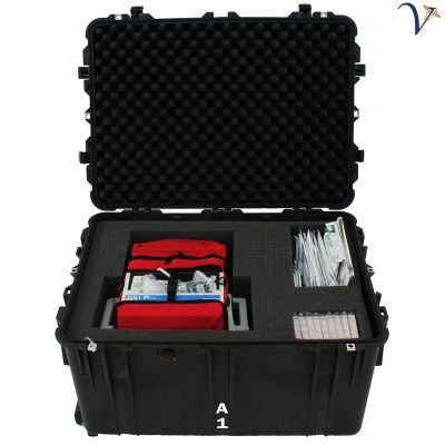 Cardiac-Trauma Monitoring Mobile Emergency Room Module (ER-CTM)
