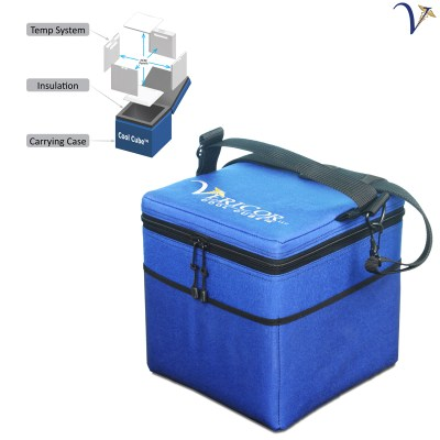 Cool Cube 50 Vaccine Transport Cooler - Vaccine Carrier