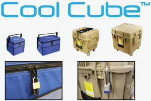Can the Cool Cube™ be locked
