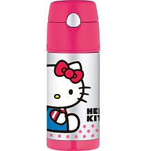 "Hello Kitty FUNtainer Beverage Bottle -  Thermos - Toys""R""Us"