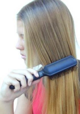 Teen hair tip