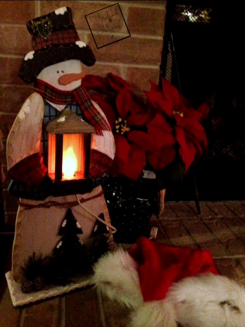 Holiday Lighted Snowman Decoration