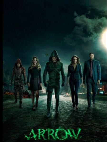 Storybook themeed Arrow on Netflix #Streamteam