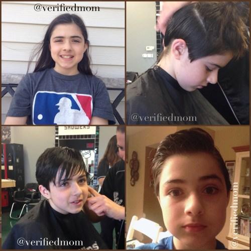 long to short hair