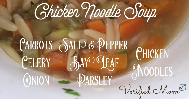 Quick & Easy Chicken Noodle Soup Recipe