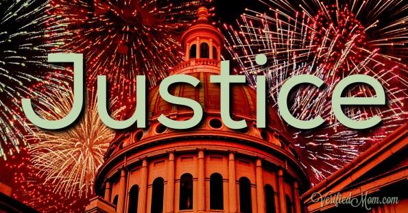 Justice #WordADayChallenge