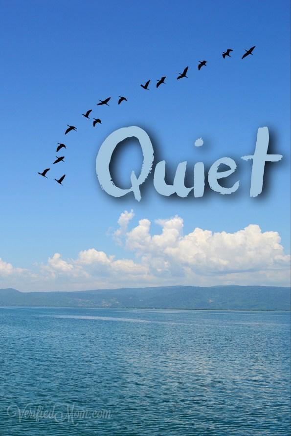 Quiet #WordADayChallenge