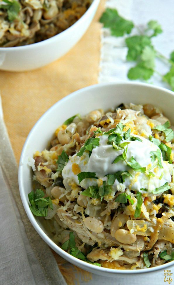 white bean chicken chili perfect for chilly evenings