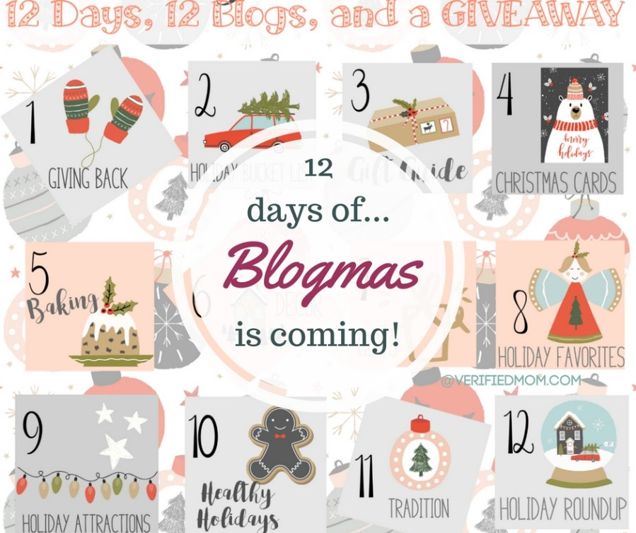 12 Days of Blogmas and a Giveaway