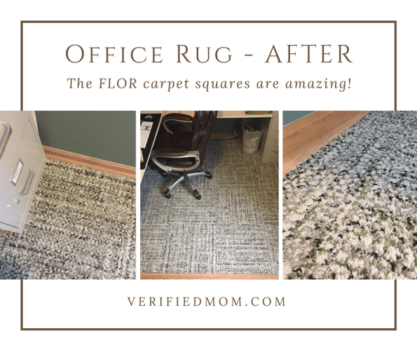 FLOR Carpet Squares are as easy as 1,2,3