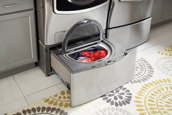 LG Front Load Washer and SideKick