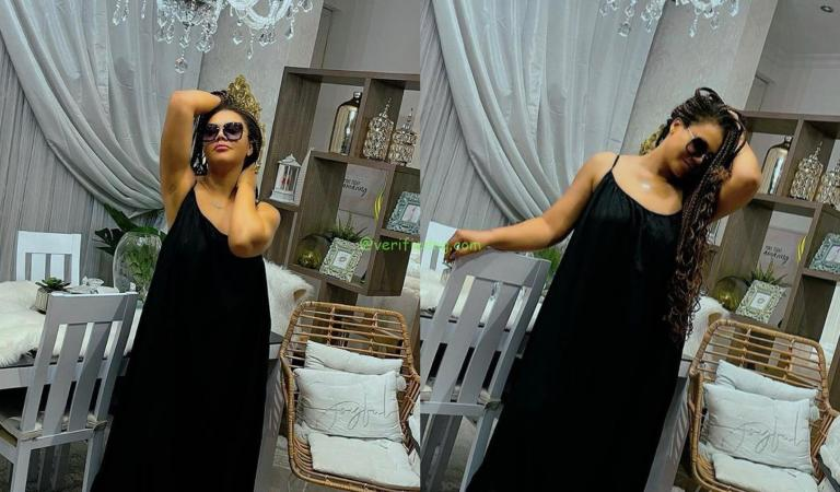 Nadia Buari Dazzles In These Photos As She Cautions Those Who Concentrate Their Lives On What People Think Of Them