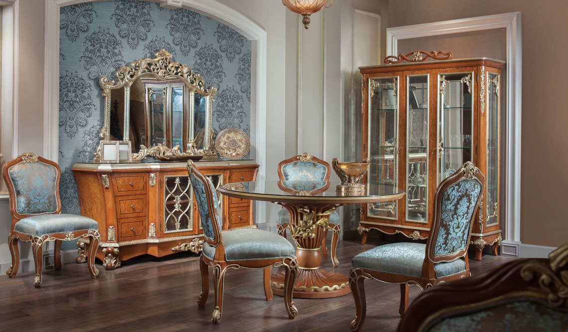 Classic Dining Room  Verinno Group