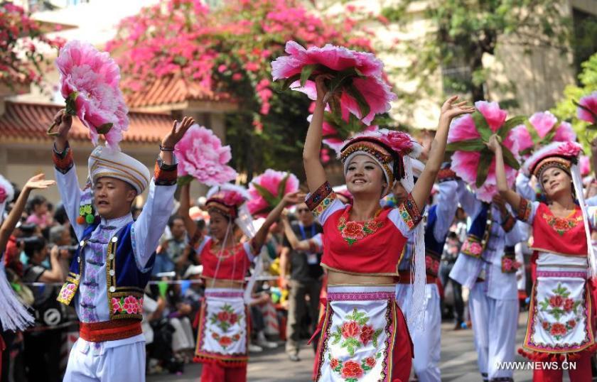 Bai minority from Dali