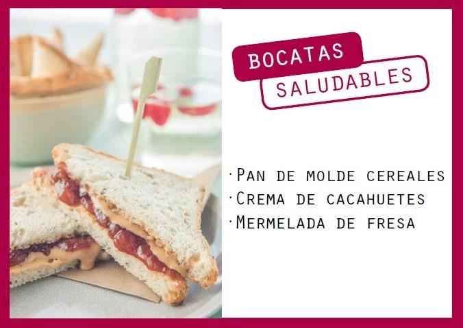 Sandwich de crema de cacahuetes y mermelada - Veritas