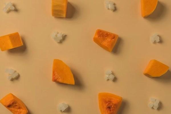 L'etiqueta d'una crema de carbassa ecològica - Veritas