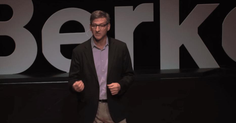 Dan Viederman giving TEDxBerkeley talk