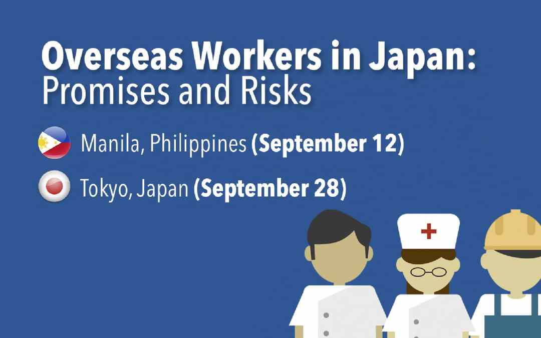 Overseas Workers in Japan: Promises and Risks Symposium