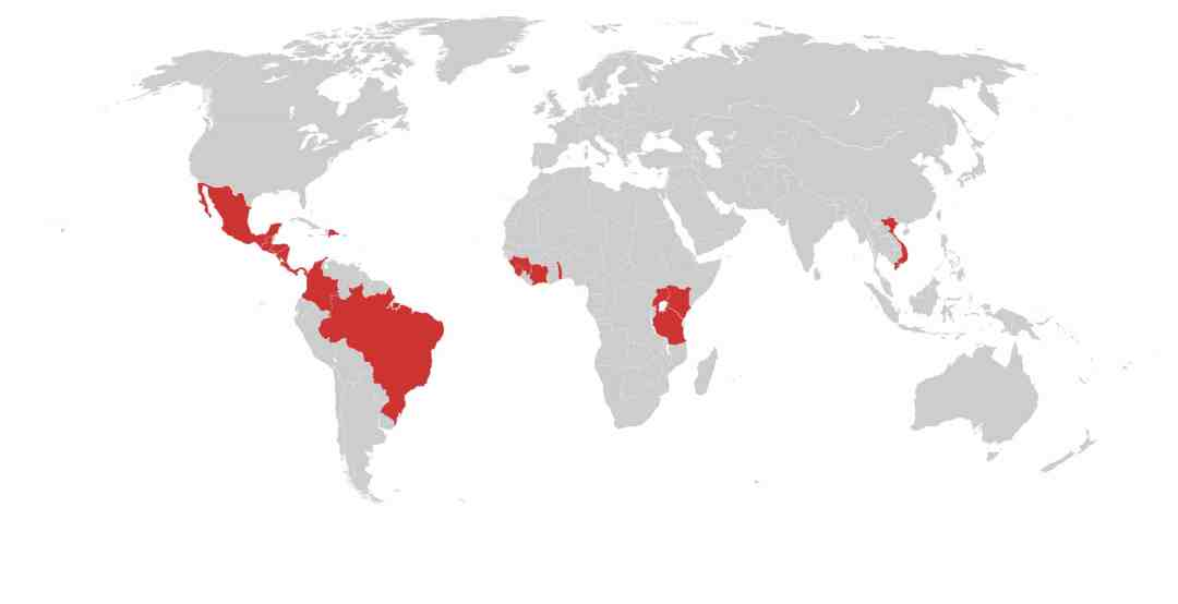 Coffee Commodity Risk Map