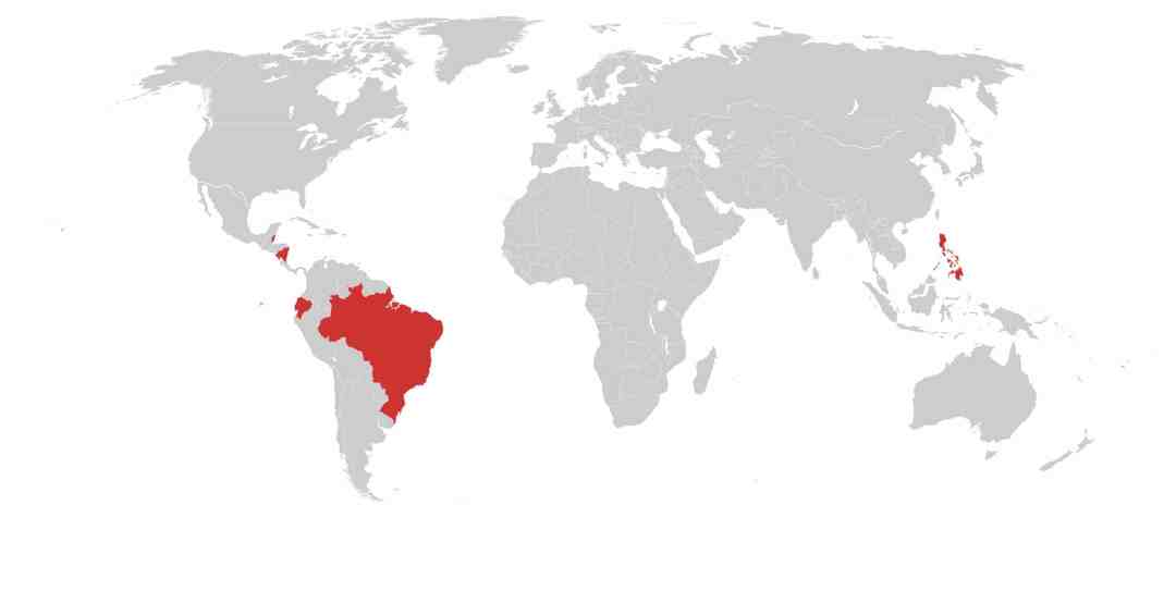 Bananas Commodity Risk Map