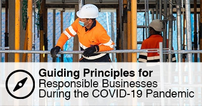 Guiding Principles for Responsible Businesses During the COVID-19 Pandemic