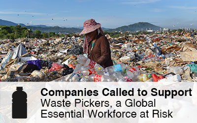 Companies Called to Support Waste Pickers, a Global Essential Workforce at Risk