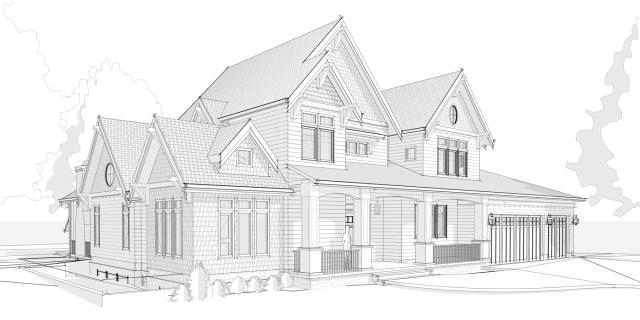 Verite Design Group, House Rendering Hearthstone