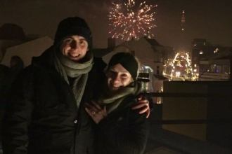 Icelandic proposal on New Years Eve